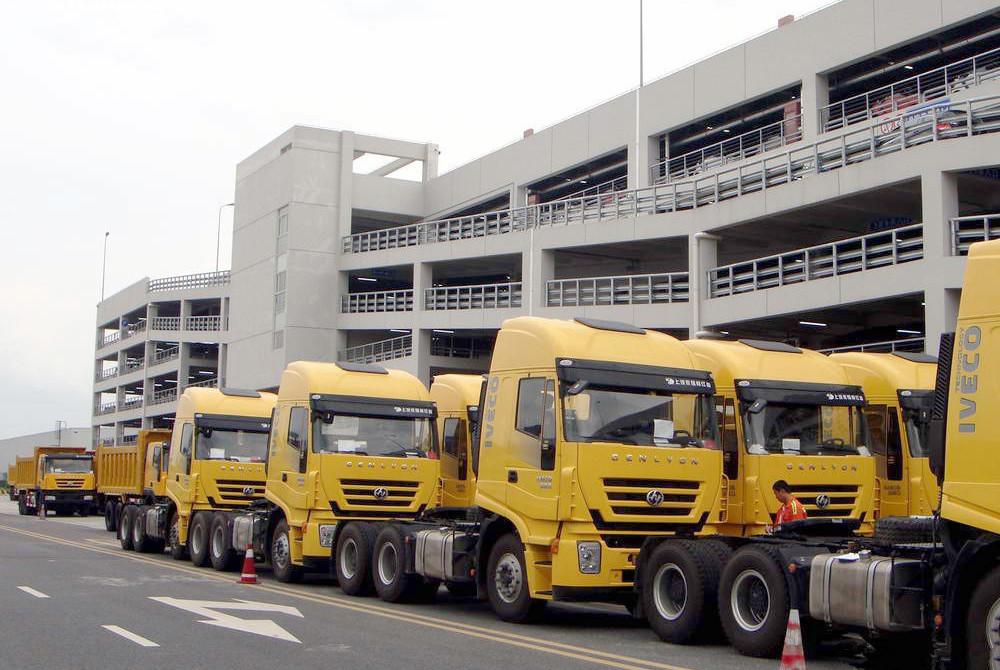 Hongyan truck