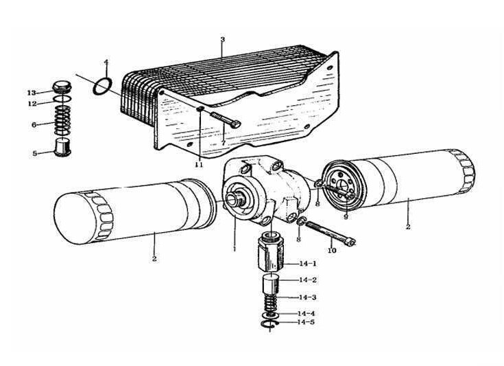 OIL PUMP AND FILTER, WD615, SINOTRUK HOWO SPARE PARTS CATALOG